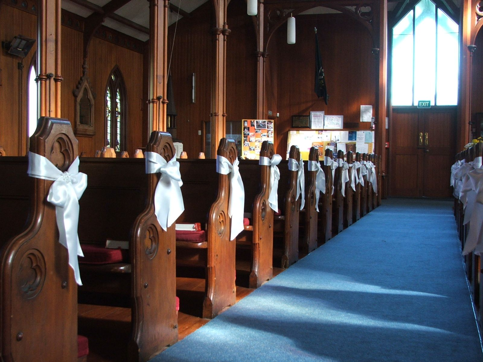 Church Wedding Decorations Pre Loved Dresses For Engaged Magazine Gym Junkie