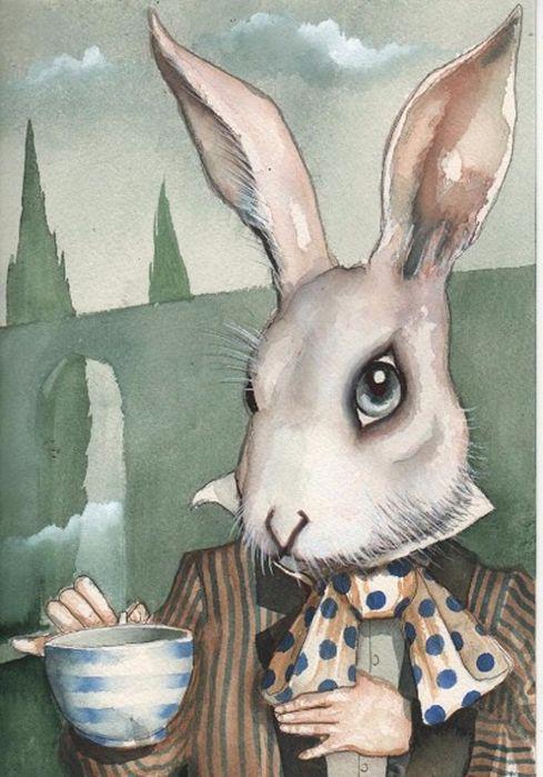 картинки заяц алиса в стране чудес можно надеть