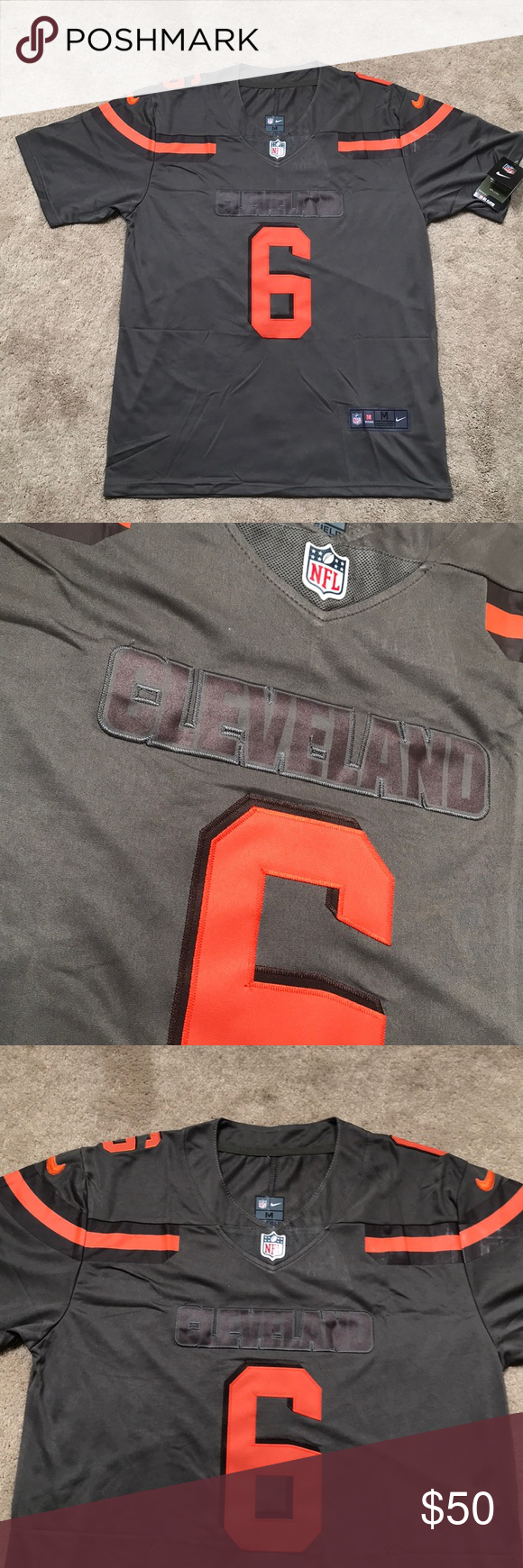 Baker Mayfield 2019 Inverted Edition Jersey NWT NWT
