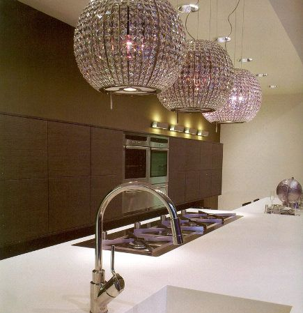 Greatest Kitchen Luxuries Kitchen Extractor Bling Light Home Garden Design