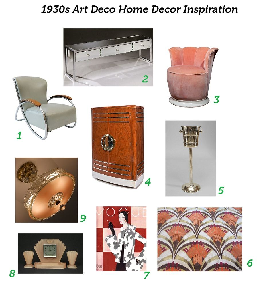 Art Deco Accessories 1930s Home Decor Inspiration I M Down With The Pinks In This