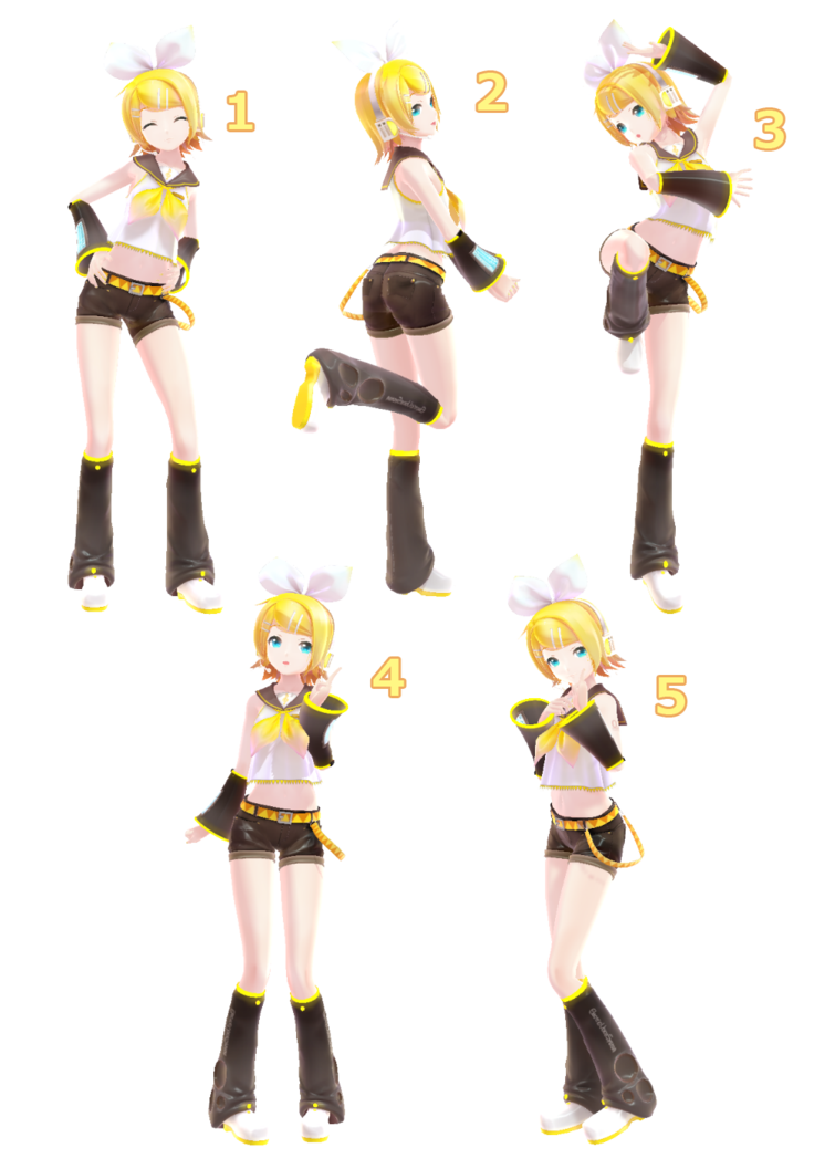 [MMD] Pose Pack 2 DL by on