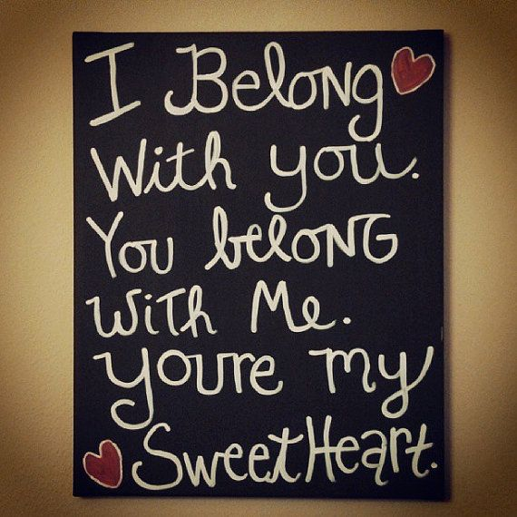"Canvas Wall Art ""Youre My Sweetheart"" The Lumineers Lyrics. $12 https://www.etsy.com/listing/160982759/canvas-wall-art-youre-my-sweetheart-the?"