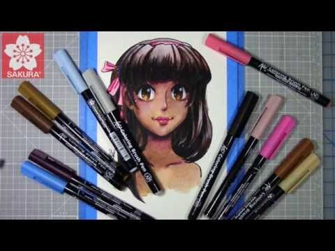 Manga Artist Lemia Crescent Teaches You How To Use A Watercolor