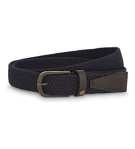 32778cc4f9a3 TED BAKER Leonard Woven Elasticated Belt.  tedbaker  belts