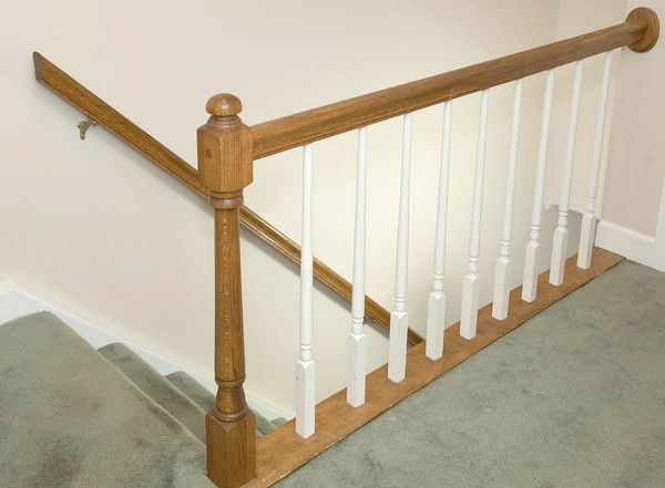 Best Replace A Stair Railing Banister Remodel Sleek Decor 400 x 300