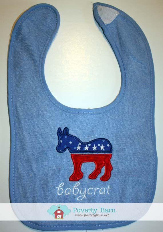 Babycrat Bib, $8