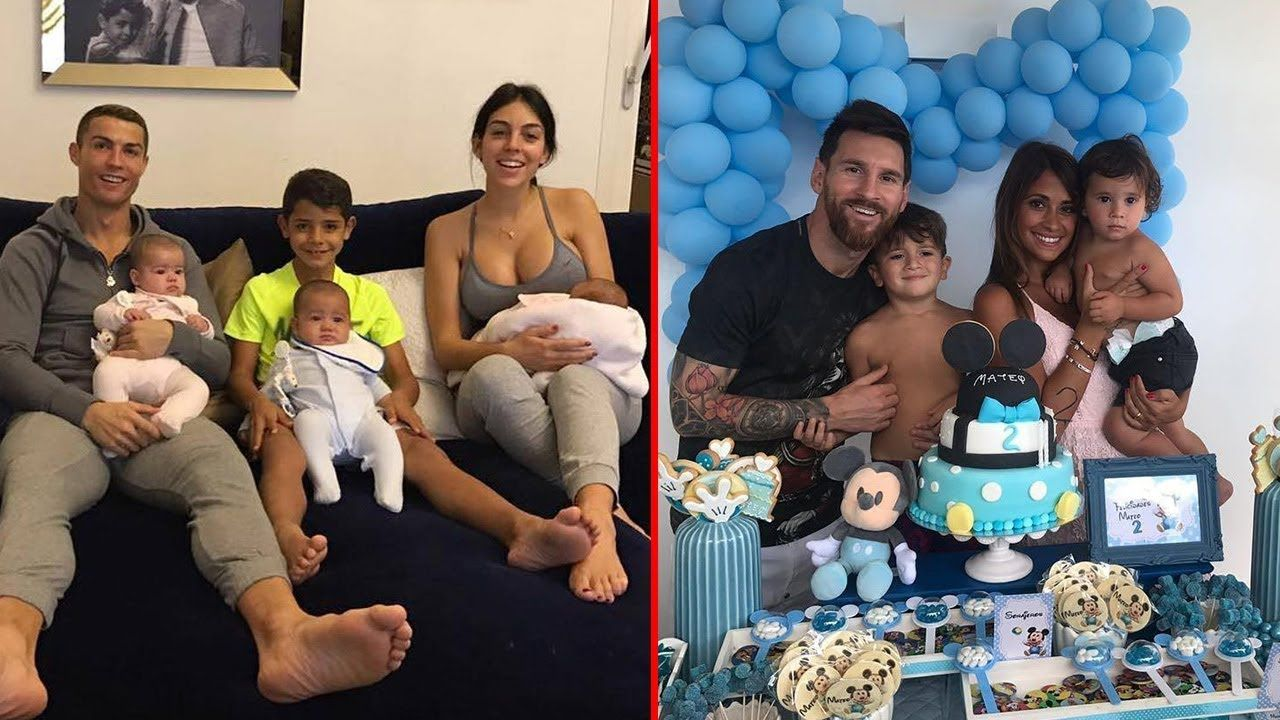 Cristiano Ronaldo S Family Vs Lionel Messi S Family 2018 Star Online