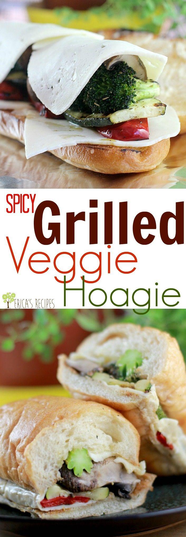 Spicy Grilled Veggie Hoagies #KingofFlavor #FlavorRocksTG #ad @target @elyucateco