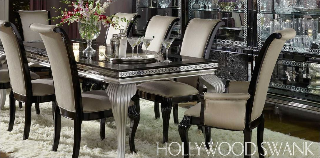 The Most Beautiful Dining Table In The World The Hollywood Swank By Michael Amini Sold At 1250 S Rainbow Blvd Interior Designers Home Decor Interior Design