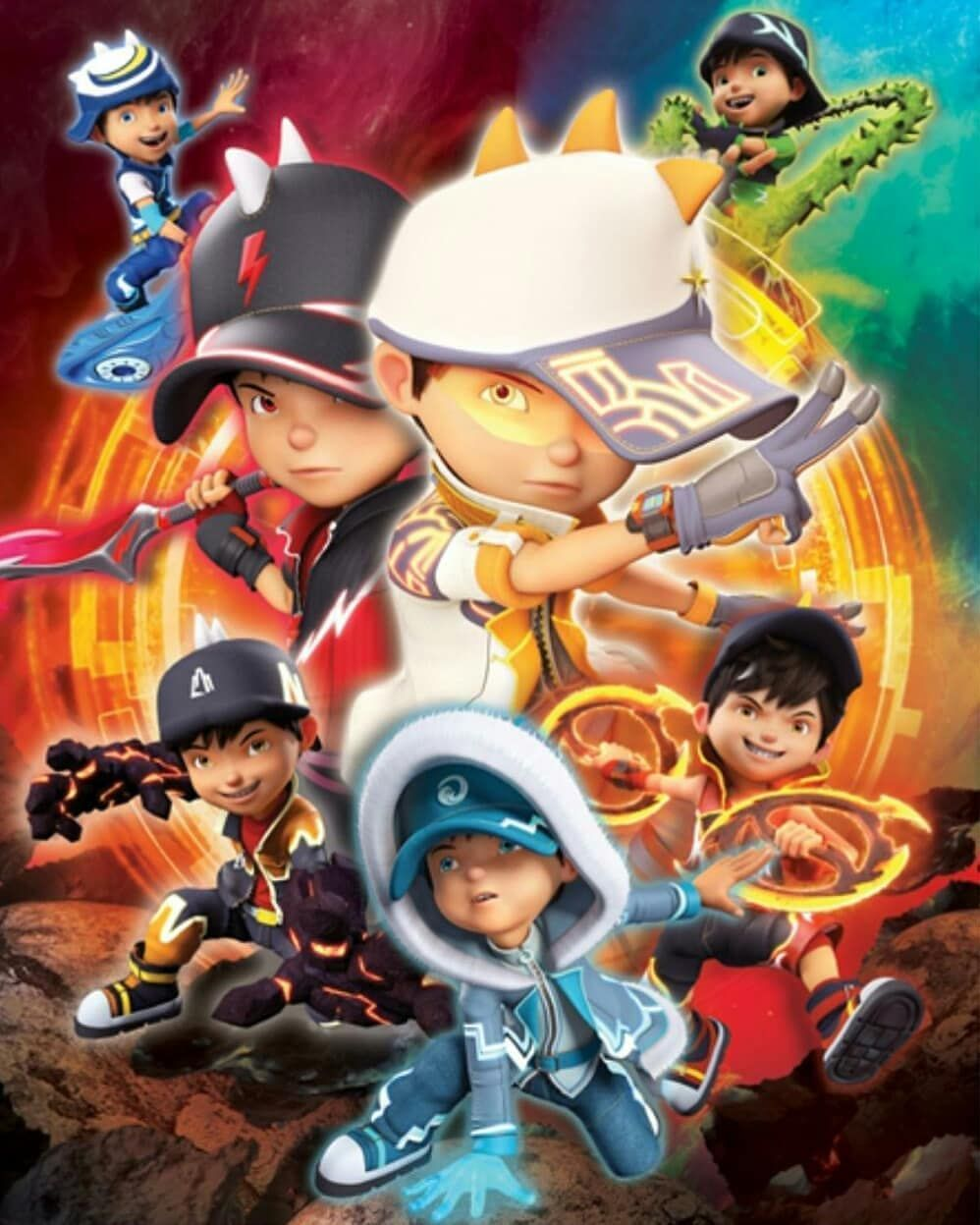 Boboiboy The Movie 2 Poster Sudah Tayang Di Bioskop