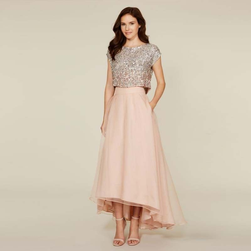 Find More Evening Dresses Information about Nude Pink Evening ...