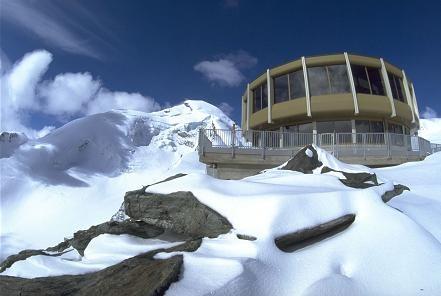 Ski resort overview for Saas Fee