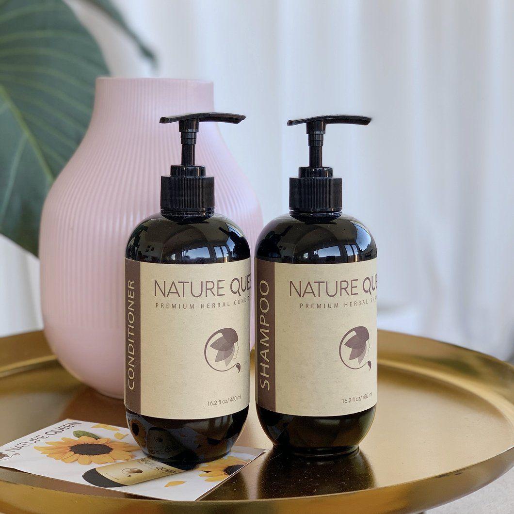 Herbal Shampoo + Conditioner Set (16oz) in 2020 Herbal