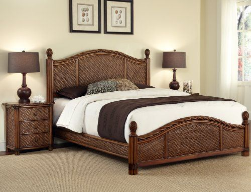 Home Styles Marco Island Queen Bed and Night Stand Home Styles,http ...