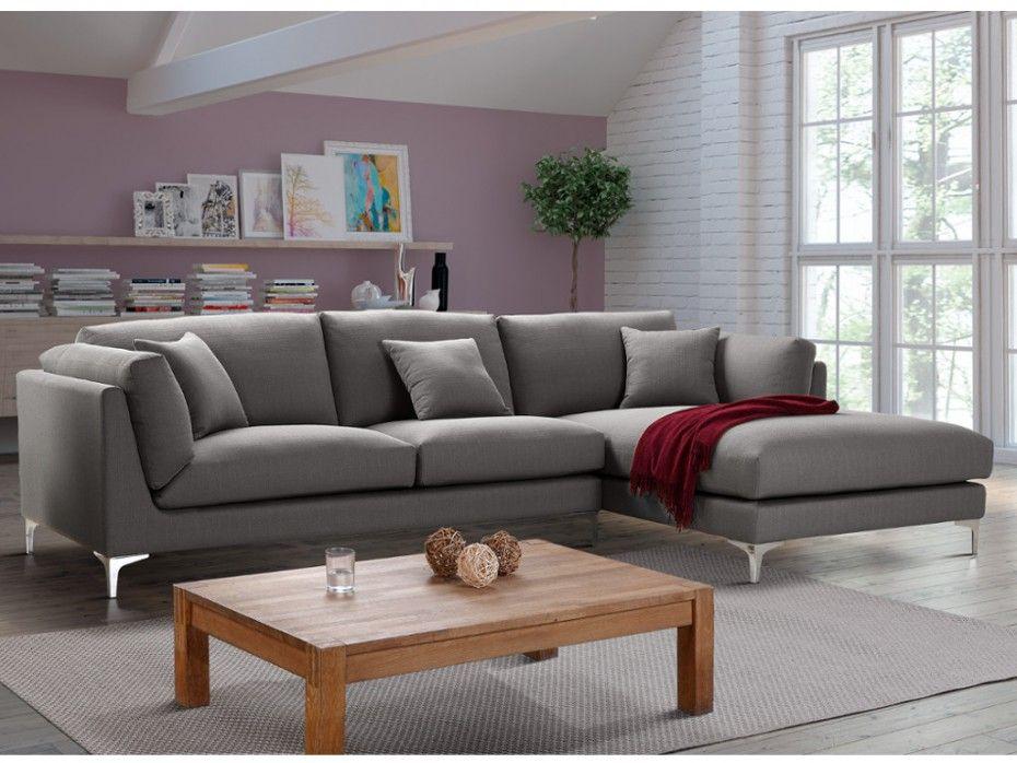 Canapé d angle FLAKE en tissu