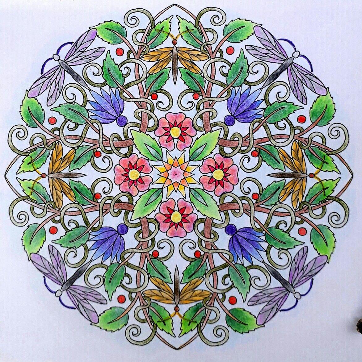 Colouring for mindfulness mandalas cynthia emerlye carandache
