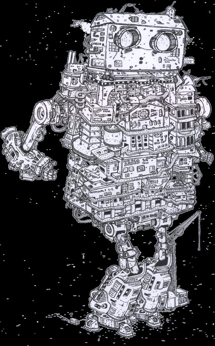 schematic robot   Schematics   Pinterest   Robot