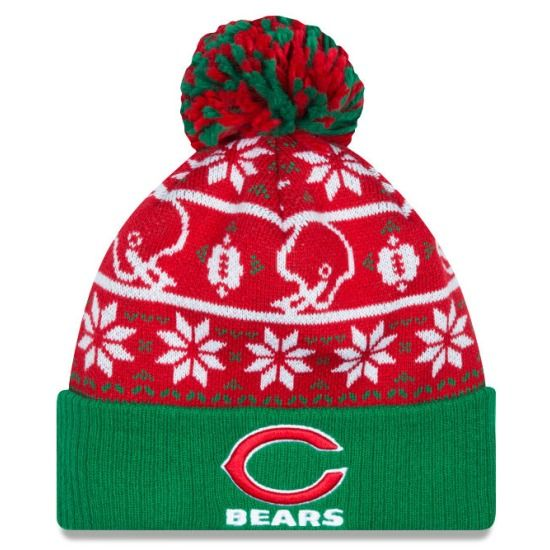 7b0fe2aa0 Chicago Bears Sweater Chill Knit Cap by New Era