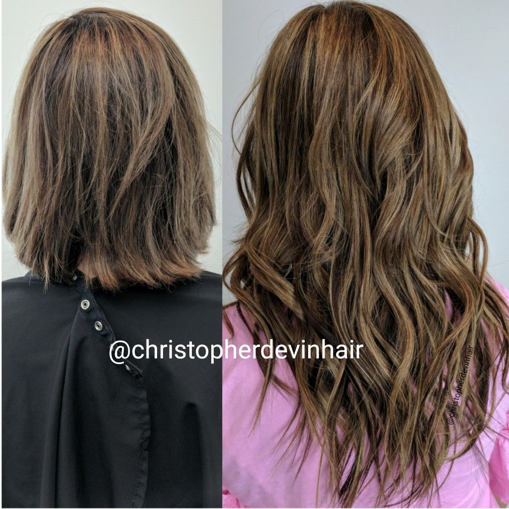 Microlinks Hair Extensions And Babylights Hig Hair Extensions And