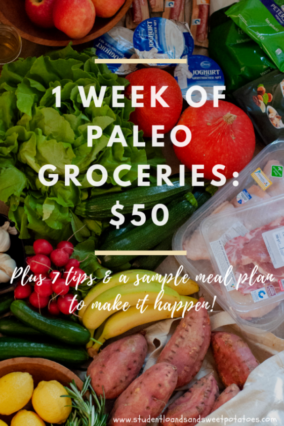 The Frugal Paleo Budget Cheap Paleo Meal Ideas And A Week S Worth Of Real Food Groceries For Less Than 50 Paleo Recipes Easy Cheap Paleo Paleo On A Budget