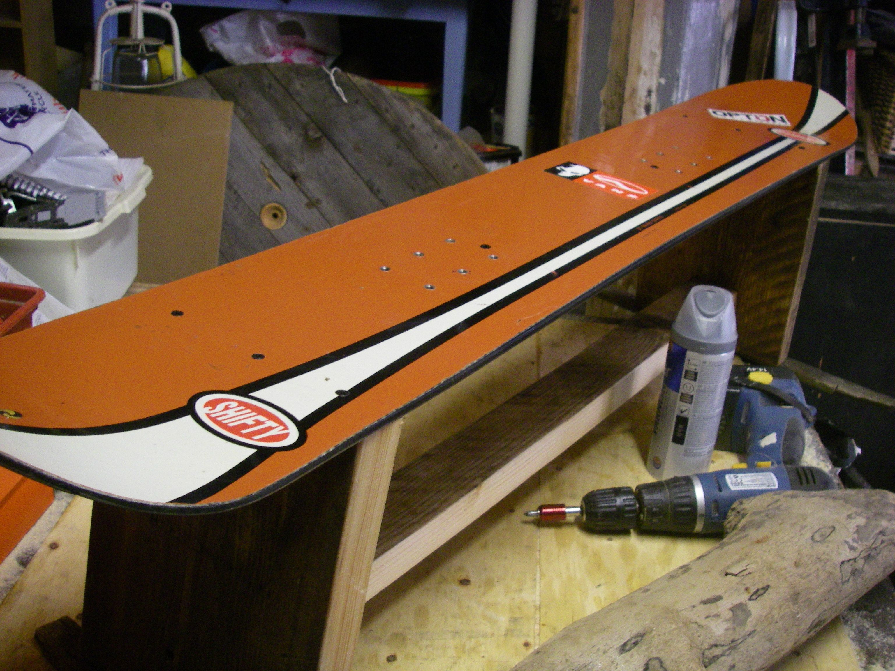 Snowboard Bench incl reclaimed wood frame 1.5m #snowboardbench ...