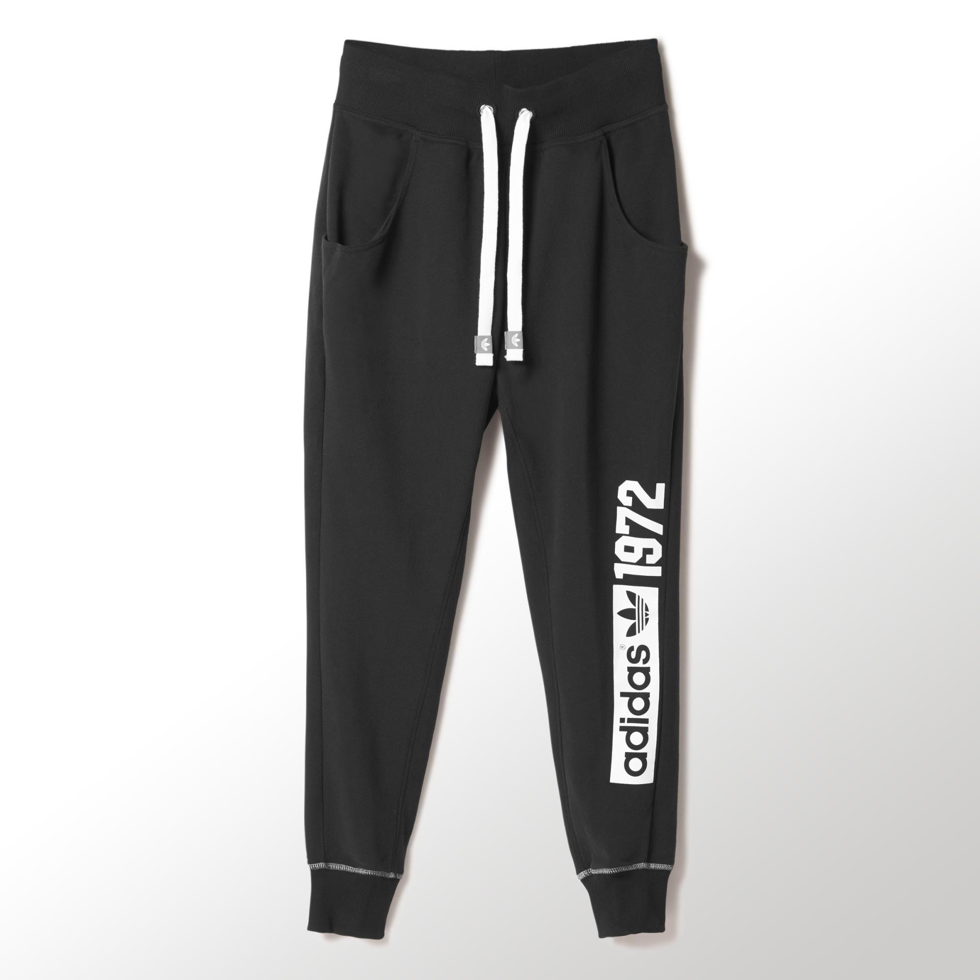 adidas Pantalones de Sudadera Holgados Super Baggy Mujer