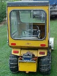 Image result for homemade lawn tractor cabs