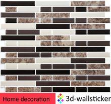 Dekorative Fliesen Stick Und Gehen Vinyl Mosaik Wandaufkleber Für Küche  Backsplash