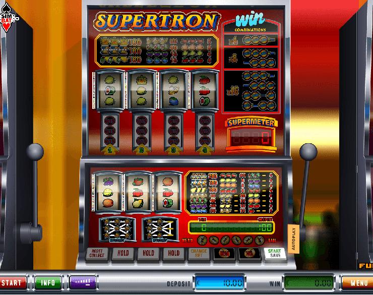 Spiele Supertron - Video Slots Online