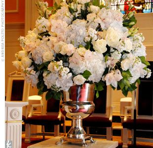 Wedding Altar Arrangements for Hydrangeas   Add to Favorites