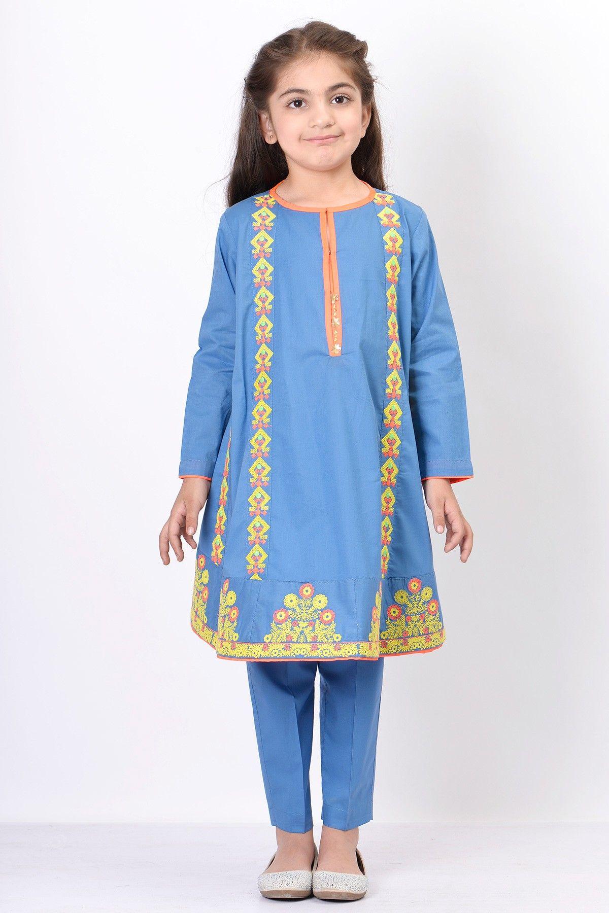 2fc5ff62083e Khaadi Baby Girls Dresses For Summer 2017