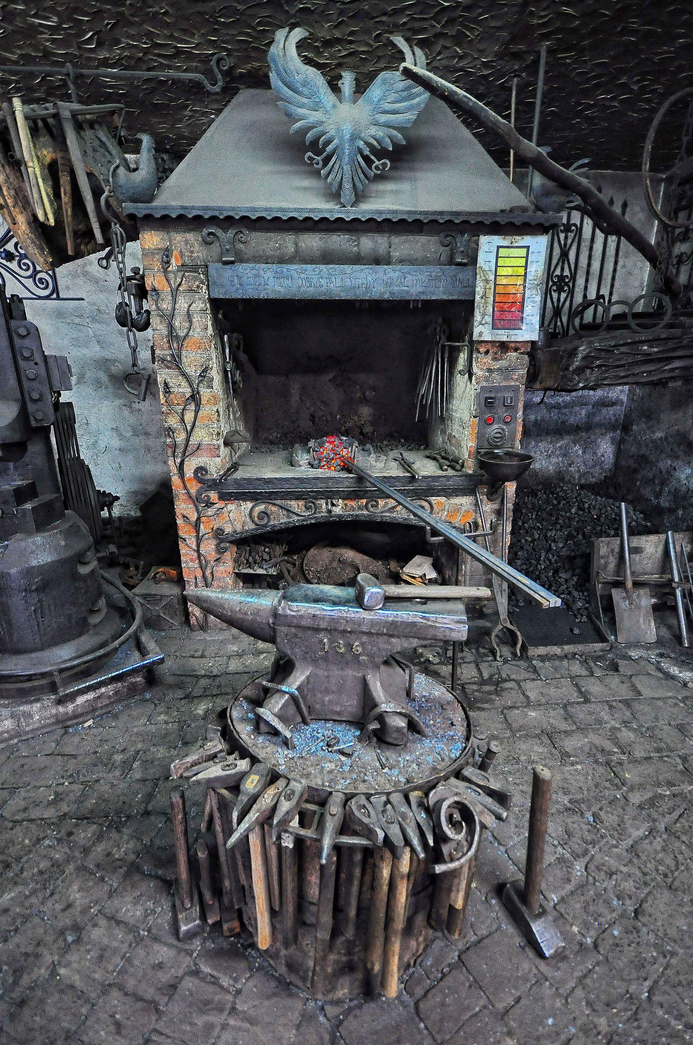 Let S Be Candid Blacksmith Blacksmith Forge