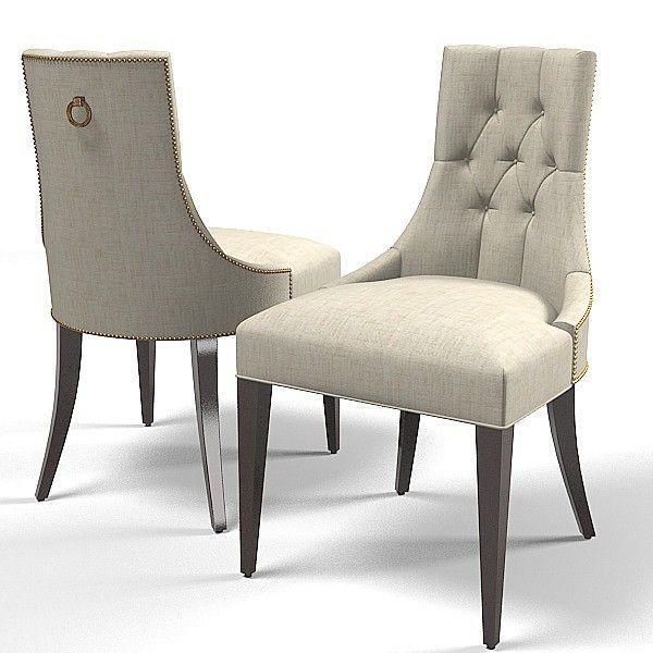 baker dining chair 3d model - Baker dining chair 7841 thomas ...