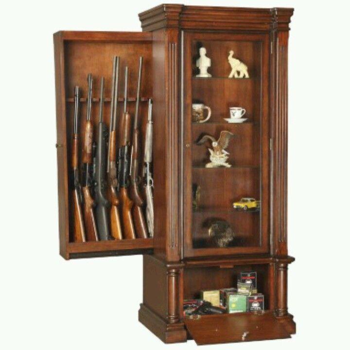A hidden gun cabinet in plain sight guns nice and gun for Secret drawer kitchens