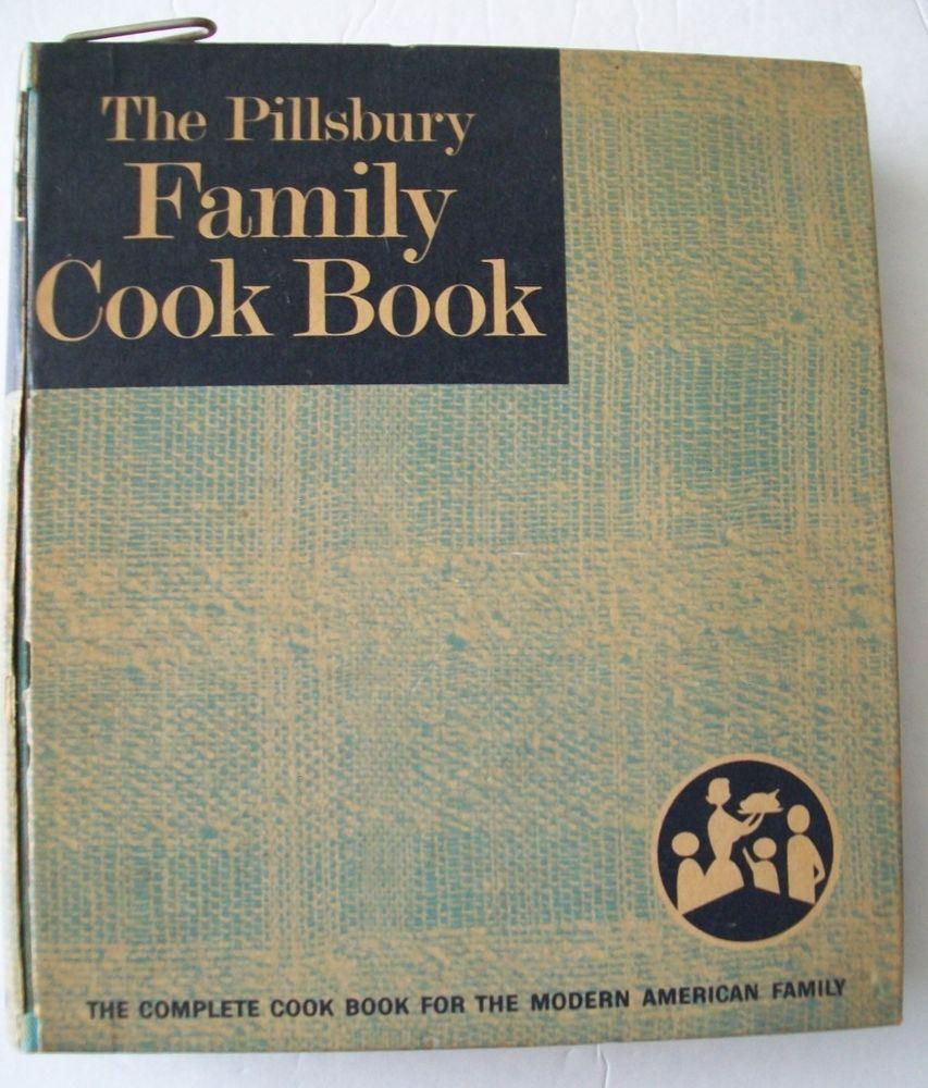 The Pillsbury Family Cook Book cookbook 5 ring binder 1963 HC 1st Ed