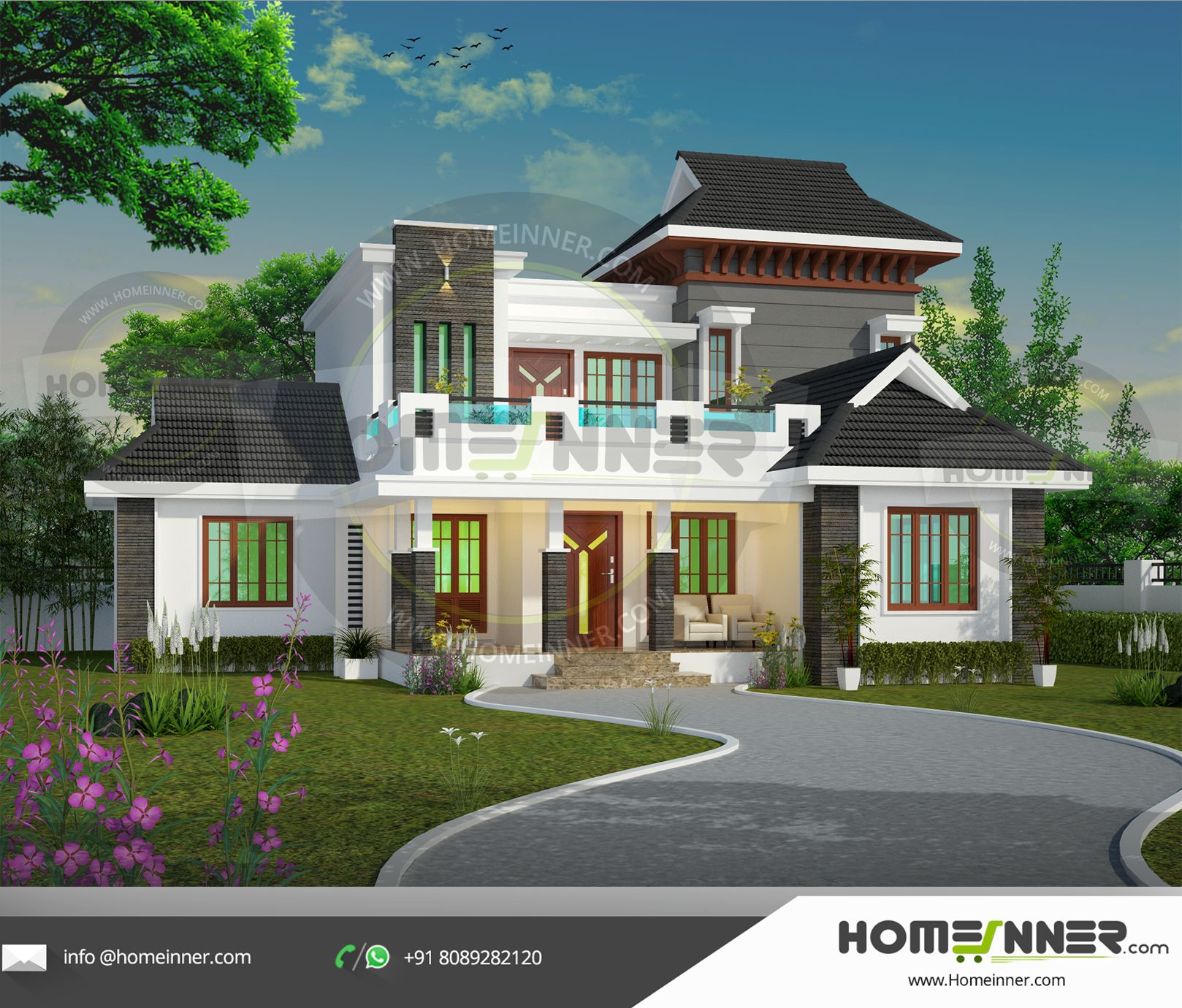 HIND 20   Kerala house design, Indian home design, Online home ...