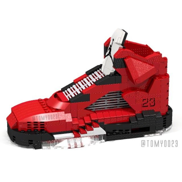 Another Classic Recreated! Kick-ass LEGO Air Jordan 9 By Tom Yoo a35c90f1f