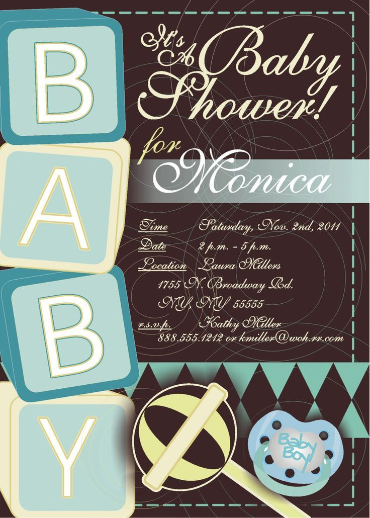 Free Printable Baby Shower Invitations | Free Printable Baby Shower ...