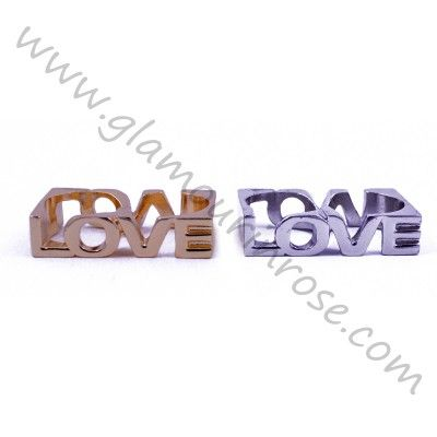Anello doppio dito LOVE | Glamour in Rose