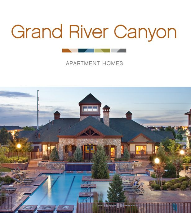 Grand River Canyon   One Bedroom, Two Bedroom, And Three Bedroom Apartments  For Rent