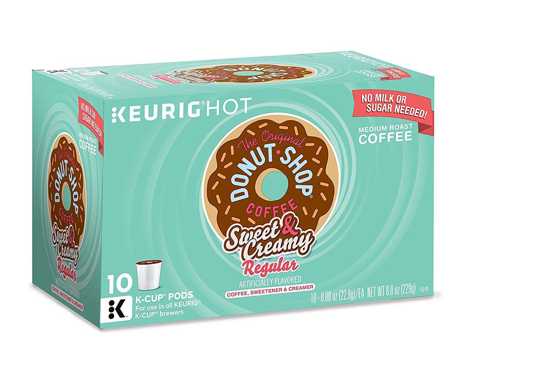 Keurig The Original Donut Shop KCup Packs, Sweet and