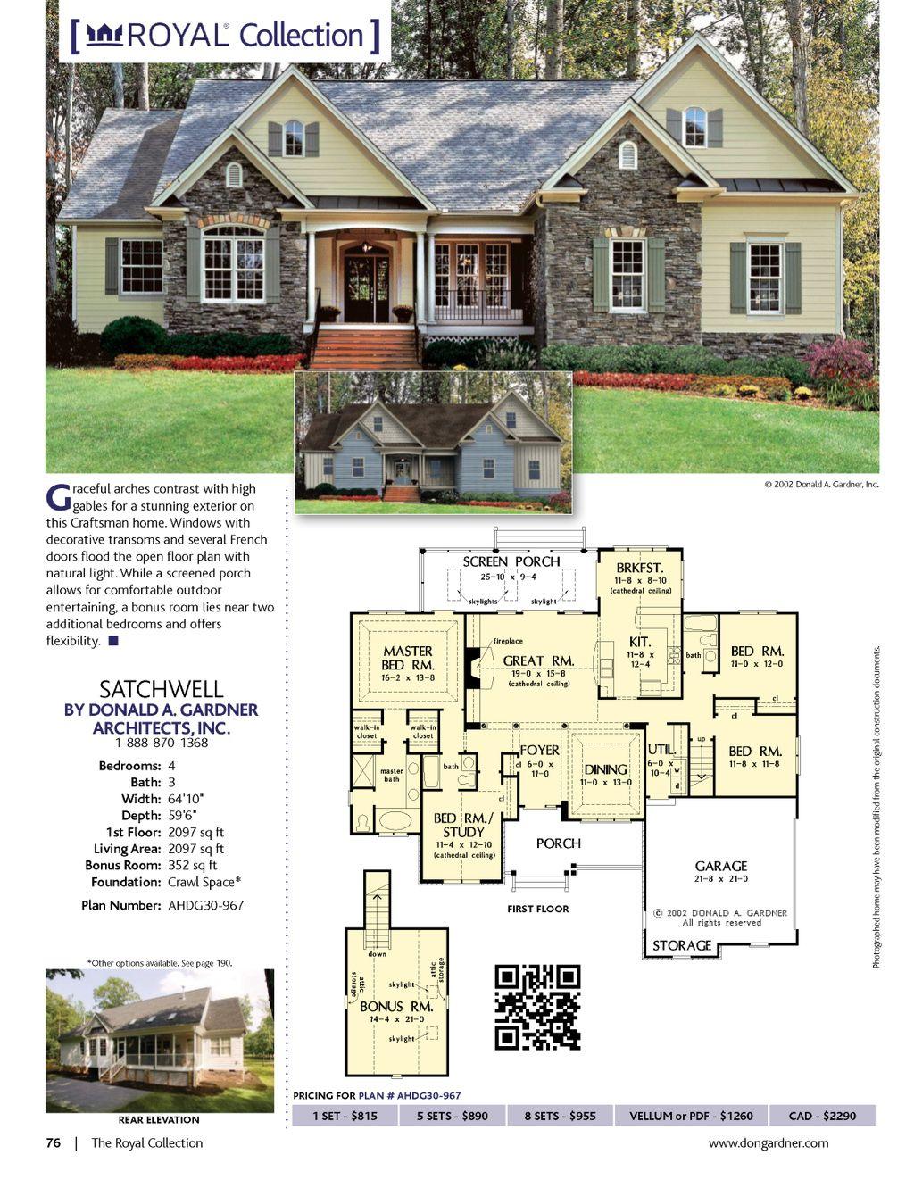Small Dream Homes Winter 2014 Best House Plans House Plans Modern Farmhouse Plans