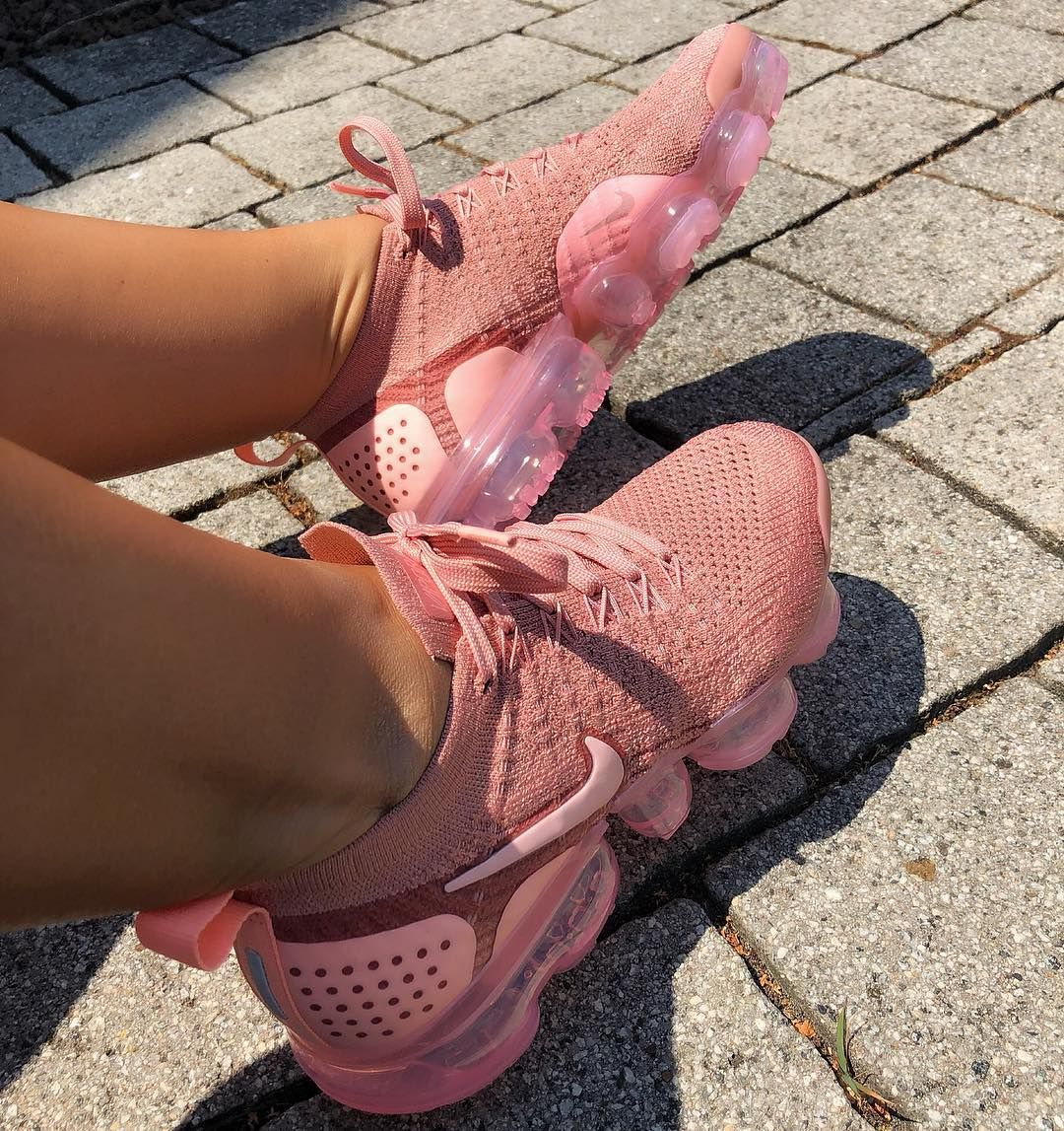 huge selection of ad6e8 70a3f Nike Air VaporMax Flyknit 2 Rust Pink - Nike Shoes ...