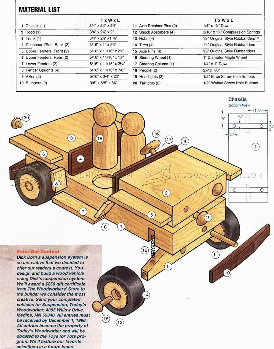 Jeep toys for kids   Wooden Jeep Plans Smart Wooden Toy Projects You Can Do For Fun