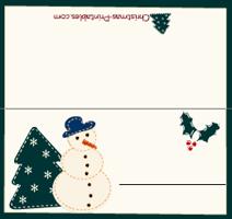 Free Printable Christmas Place Cards Christmas Place Cards Christmas Cards Free Free Christmas Printables