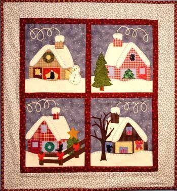 Pin by Funda Belginer on Home&Landcapes   Pinterest   Primitive ... : house patterns for quilts - Adamdwight.com