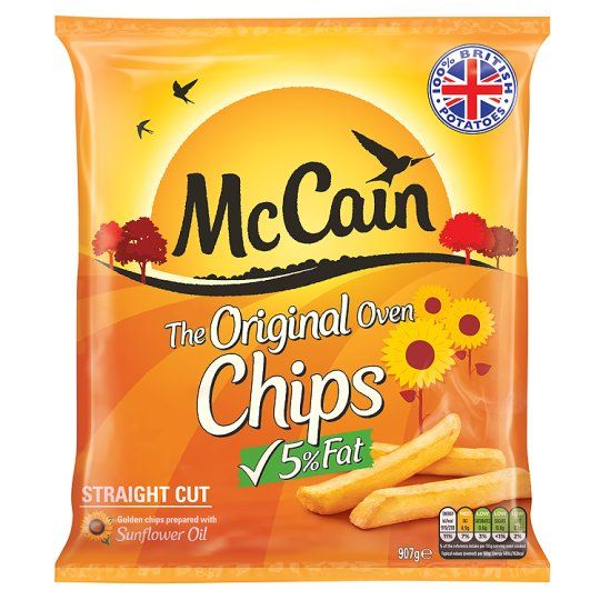 Mccain Oven Chips 907g In 2020 Chips Packaging Snack