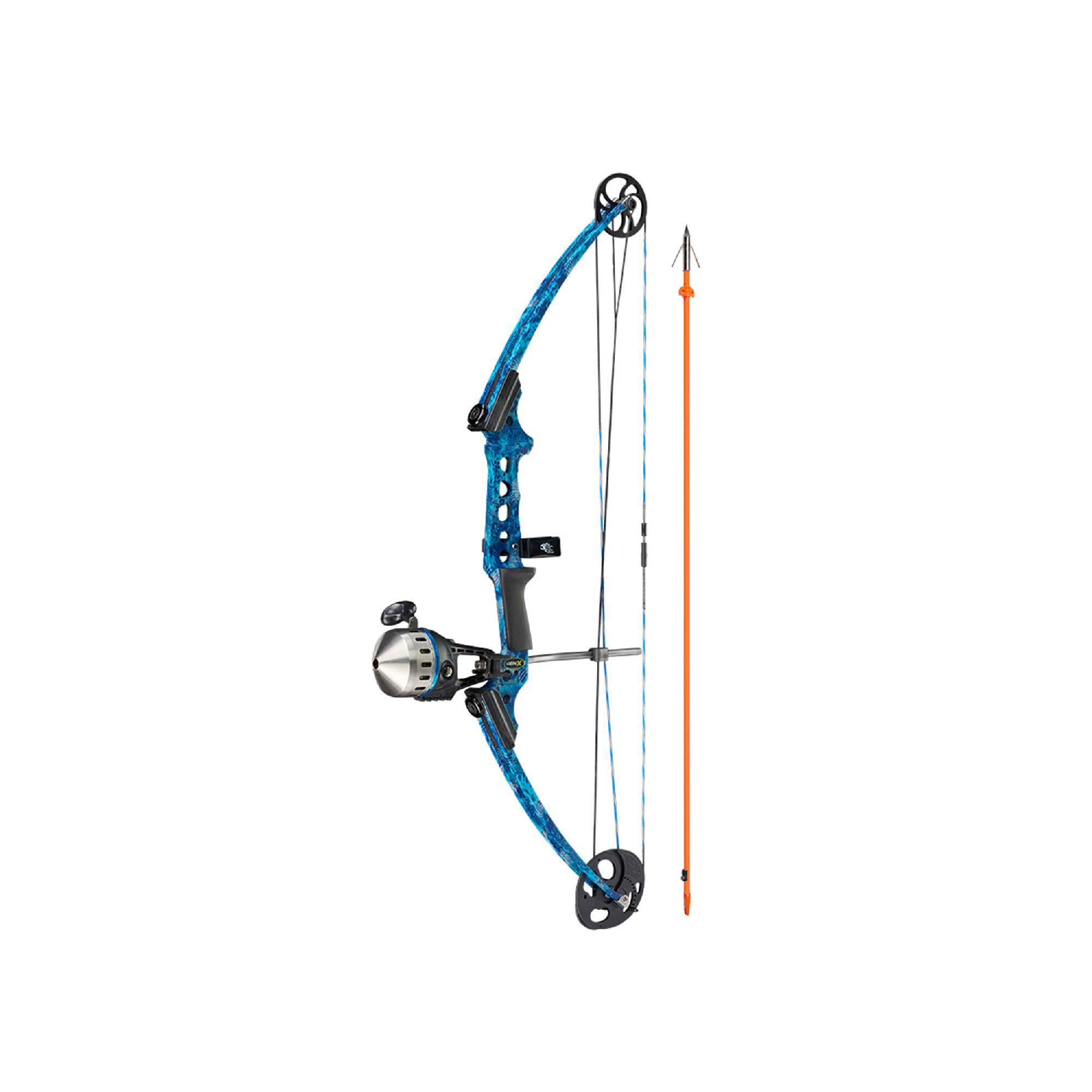 Gen X Bow With Kit Cuda Right Hand Blue Bows Archery