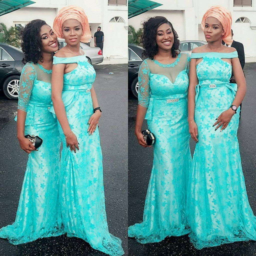 ASO EBI STYLES YOU CAN ROCK WITH YOUR FRIENDS Turquiose Peach Ankara ...